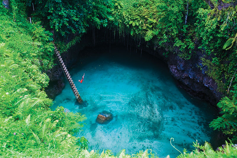 best swimming spot in samoa