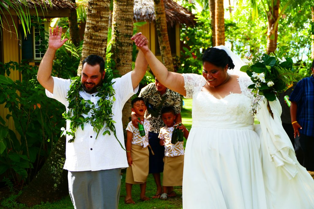 Le Vasa Resort Samoa Wedding