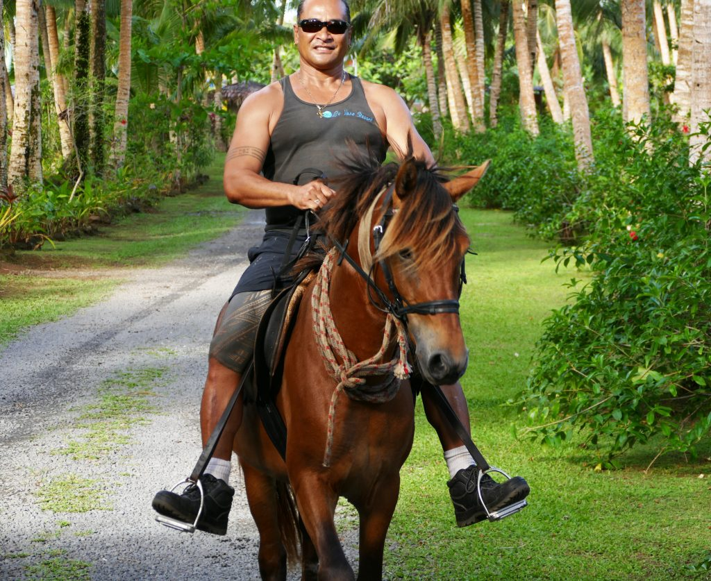 Fatu ride Romeo Le Vasa Resort