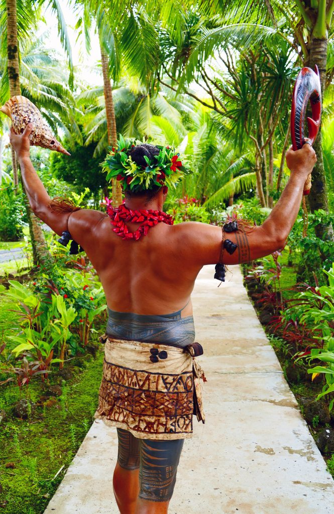 Samoan-Warrior-Le Vasa Resort