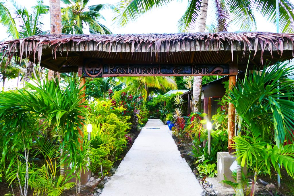 entrance to restaurant- LeVasa Resort