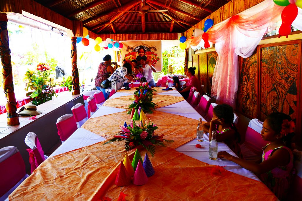 first birthday party Le vasa resort