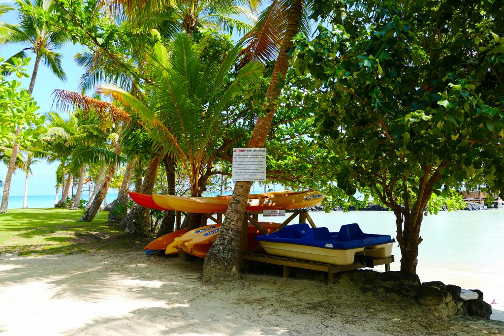 kayak station Le Vasa Resort