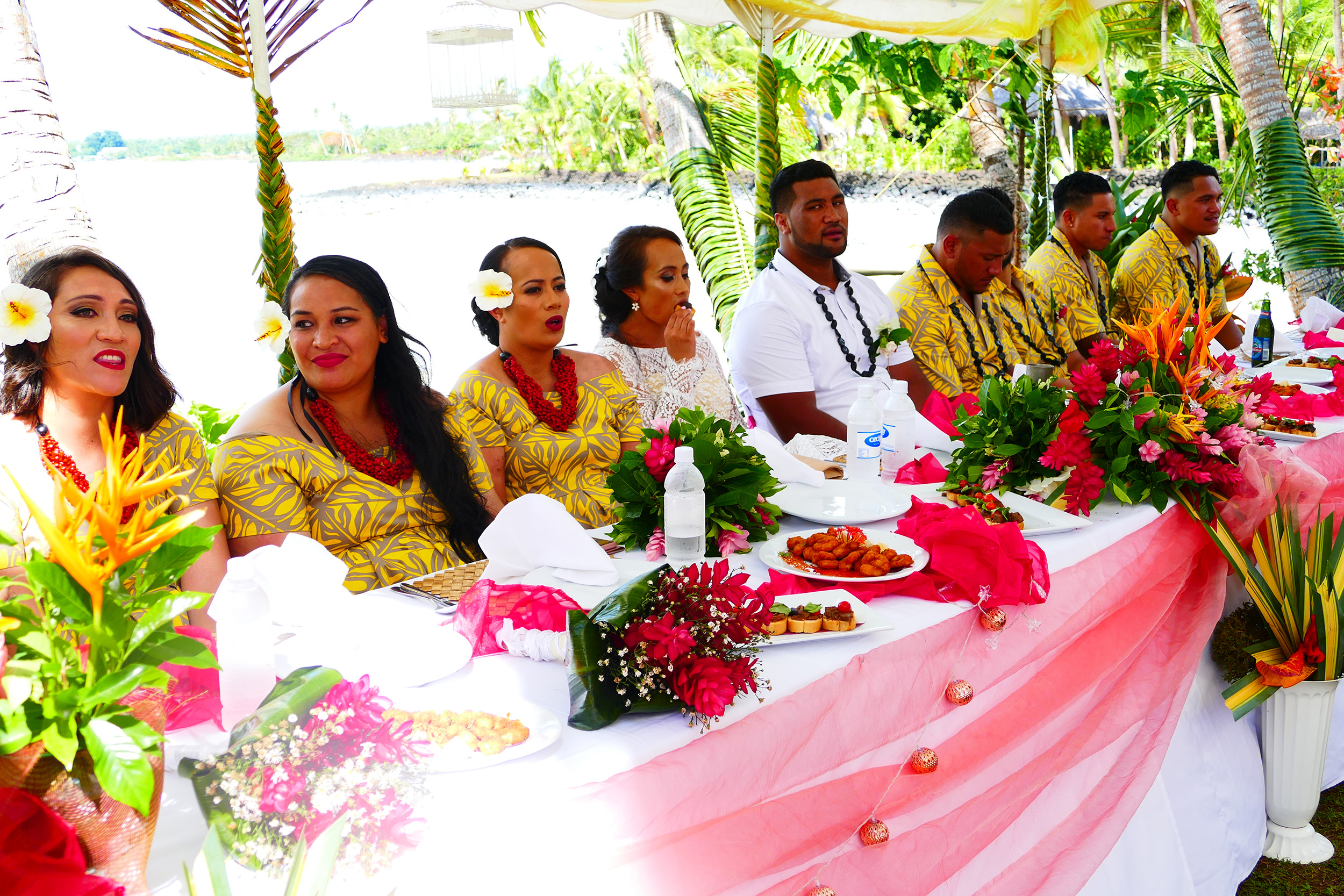 le vasa resort bridal table