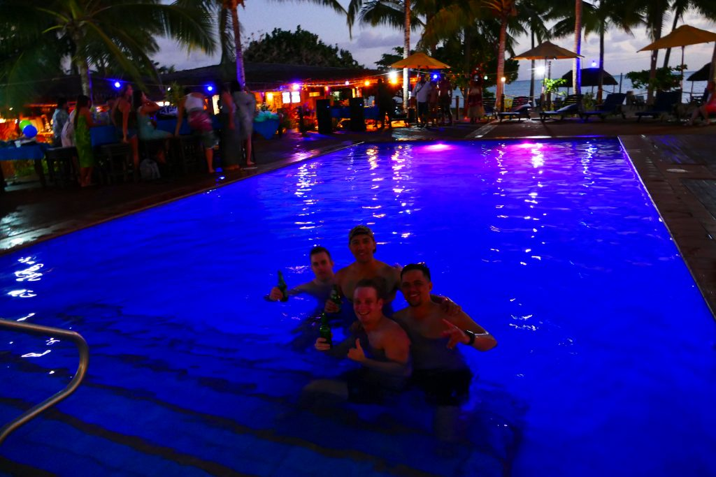 Le Vasa Resort-party time