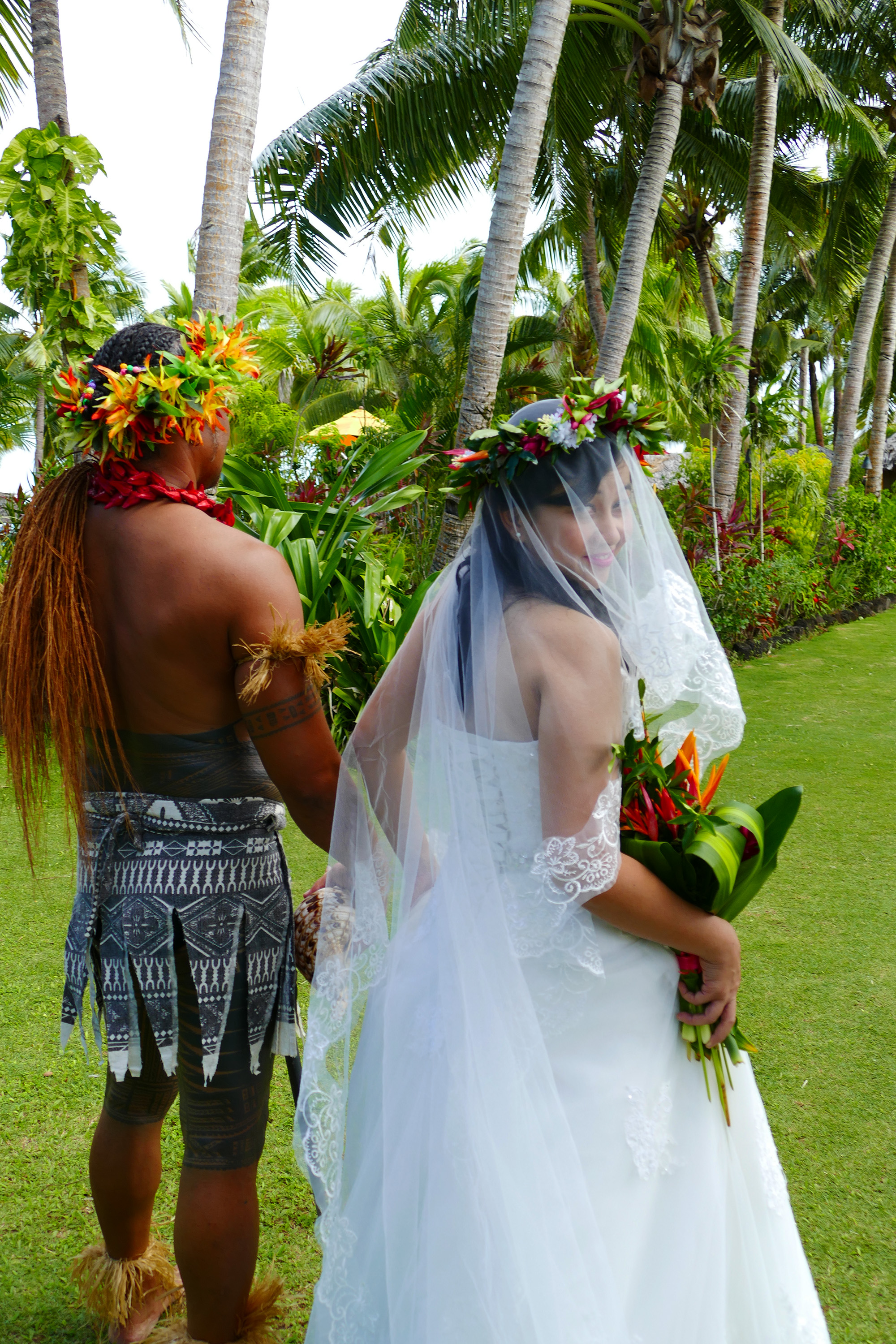 warrior escort with bride le vasa resort