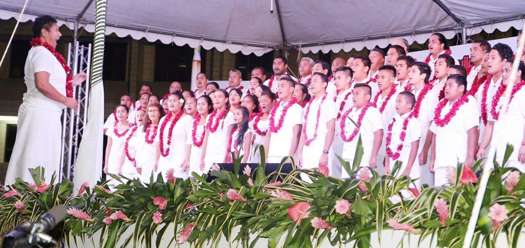 choral exhibition samoan teuila festival le vasa resort