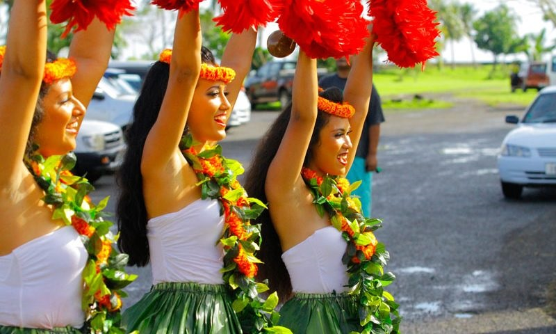 contemporary dance samoan teuila festival le vasa resort