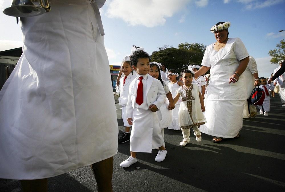 Samoa's white Sunday